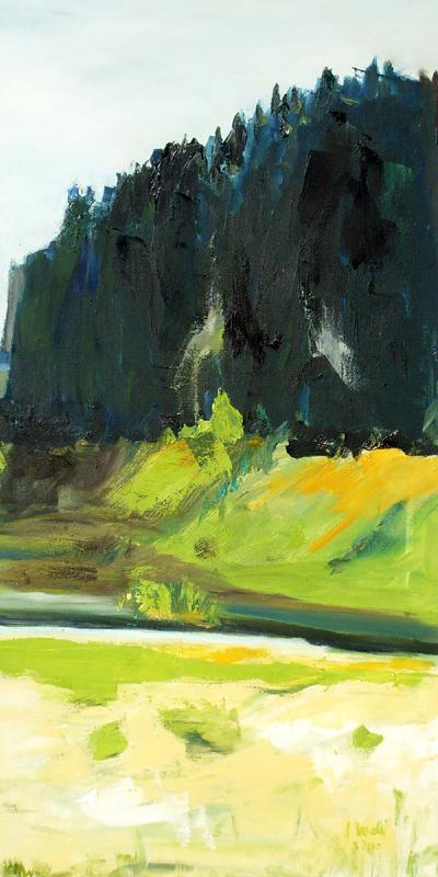 Düne III 2012 80 x 40 cm